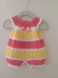 crochet baby dress crochet infant romper 0 3 months baby crochet