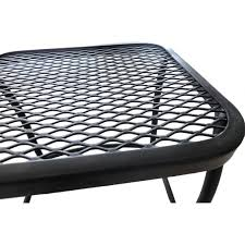 Wrought Iron Mesh Patio Furniture by Better Homes And Gardens Seacliff Wrought Iron Nesting Side Tables
