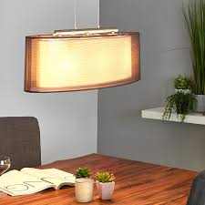 brown pendant light oval nica fabric pendant light brown lights co uk