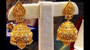 gold earrings for marriage exclusive traditional bridal gold earrings designs