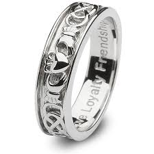 men rings silver images Mens sterling silver claddagh wedding ring sm sd9 jpg