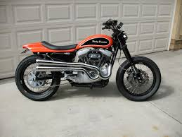 street tracker build harley davidson forums on street images