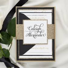 formal wedding invitation caleigh formal wedding invitation with glitter all that