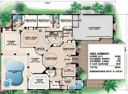 Arched Windows And A Huge Covered Lanai 76005gw Architectural House Plans With Lanai