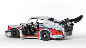 martini porsche rsr martini liveried porsche 911 rsr legos pop culture