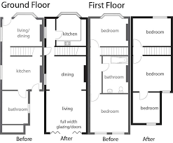 terraced house floor plans uk house design plans