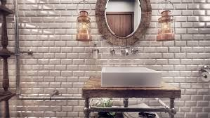 The Brick Vanity Table Modern Romanian Home Design Fuses Vintage With Contemporary Class