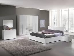 meuble chambre blanc laqué étourdissant chambre blanche et grise avec chambre deco design best