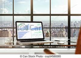 bureau des statistiques ville megapolis statistiques financier bureau lumière image