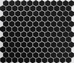 aliexpress com buy black hexagon ceramic mosaic tile kitchen