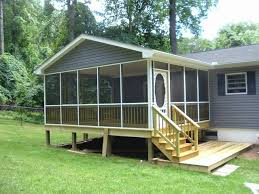 decorating ideas for mobile homes best screened in porch ideas for mobile homes 20541