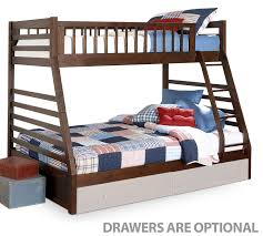 leons furniture kitchener starship bunk bed set chocolate cherry s