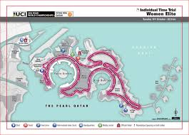 Qatar Route Map by Cycling Road World Championships Tv Info Odds Dates Route Maps