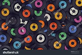 halloween music background vinyl records music background stock photo 222981331 shutterstock