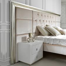 High Headboard Bed High End Designer Italian Extended Headboard Bed Juliettes Interiors