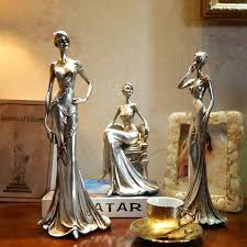 creative character ornaments fashion sculpture