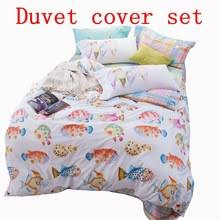 Fish Duvet Cover Popular Patterned Duvet Covers Buy Cheap Patterned Duvet Covers