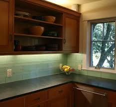 green glass tiles for kitchen backsplashes green glass kitchen backsplash mill valley modern kitchen