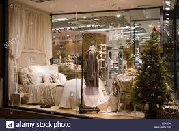 zara home furnishing store mallorca balearic spain stock photo