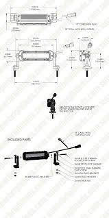 10 Watt Led Light Bar by 6