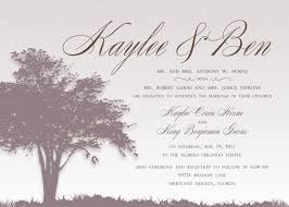 Wedding Announcement Template Best Wording For Wedding Invitations The Basics Weddingood