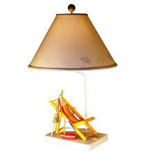 coastal table lamps leala coastal boho hand glazed blue ceramic