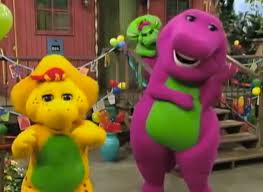 barney purple dinosaur raps junior featuring
