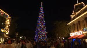 main street usa christmas decorations at disneyland 2015 youtube