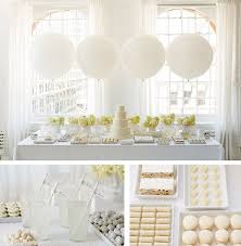 white and gold baby shower all white baby shower ideas baby ideas