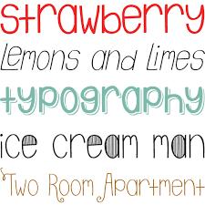 emily lime design font neuheiten - Schrift Design