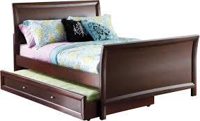 Ivy League Queen Bedroom Set Cama Estilo Trineo Ivy League Color Cherry 3 Pzas Rooms To Go
