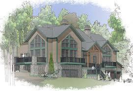 mountainside house plans moutainside home post and beam floor plans davis frame