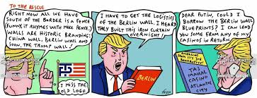 Iron Curtain Political Cartoons Berlin Wall News And Political Cartoons