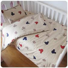 Bedding Set For Crib 100 Cotton Washable 3 Sets Baby Bedding Set Cot Crib Bedding Set