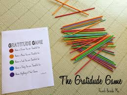 the gratitude up sticks teach beside me