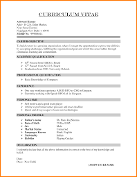 categories for a resume resume for your job application