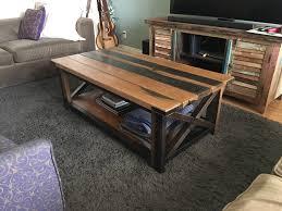 livingroom table hardwood living room furniture photo album diy rustic coffee table