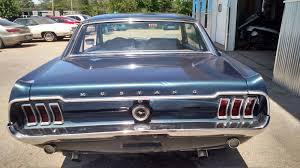 1968 ford mustang 302 230 hp v8 2 door hardtop blue antique manual