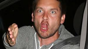 Tobey Maguire Face Meme - 6 times tobey maguire had a public meltdown because nobody would