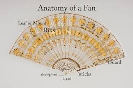fan sticks historical fiction authors men swords women fans