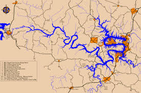 ozarks map lake of the ozarks map with lake of the ozarks map spainforum me