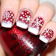 50 festive christmas nail art designs