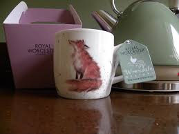 Fox Mug by Royal Worcester Wrendale Bone China Mug The Artful Poacher