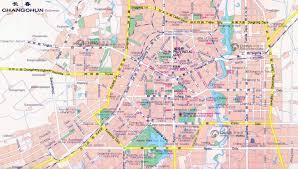 Dongguan China Map by Changchun Map