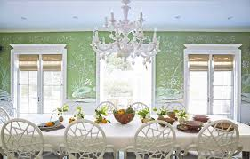 home design table dining room traditional with grey wallpaper