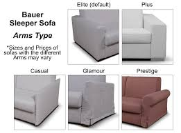 contemporary sofa bed bauer by seduta d u0027arte italy