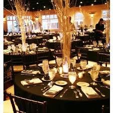 black and gold wedding ideas black white centerpieces wedding reception photos pictures
