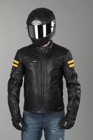 retro motorcycle jacket segura retro leather jacket black yellow now 14 savings xlmoto