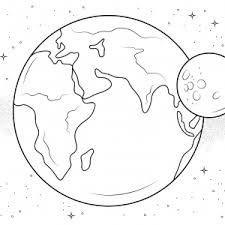 coloring pages of the moon coloring pages of the moon for