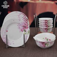 sale 24 set lilac blossom painting bone china